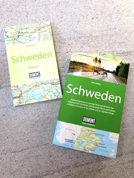Perfekte Reiseplanung auch der Reiseführer gehört dazu