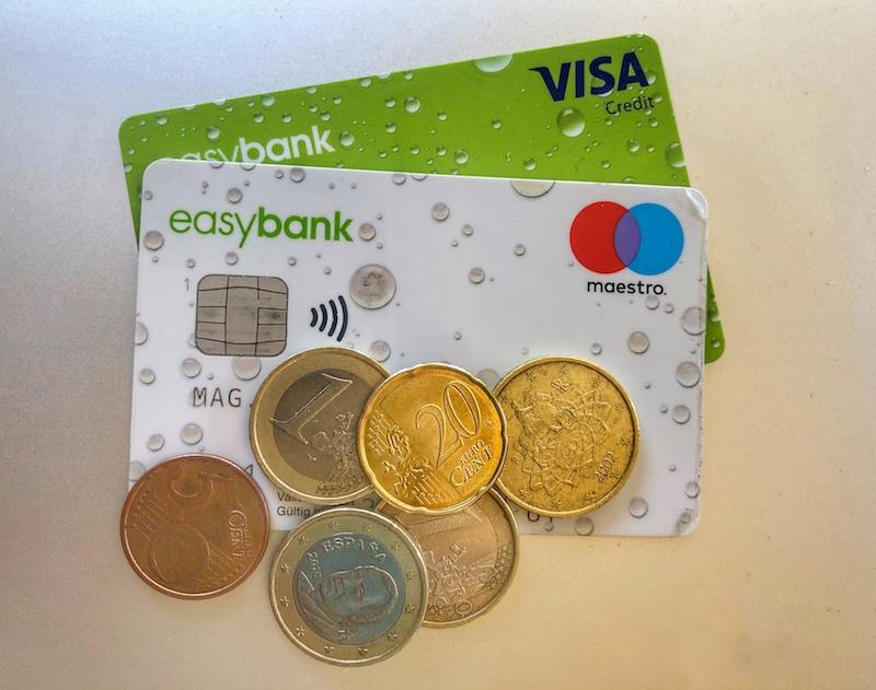 Bezahlen im Urlaub mit Kreditkarte & Co.