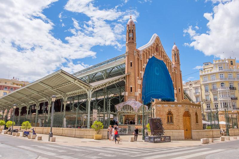 Mercado de Colón Rückseite Valencia Sehenswürdigkeiten
