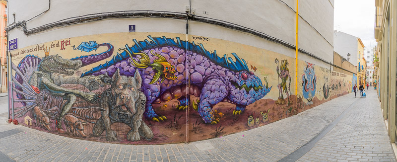 Streetart Calle Cañete Valencia Sehenswürdigkeiten