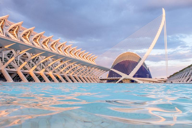 Agora und Museo de les Ciènces - Valencia Sehenswürdigkeiten