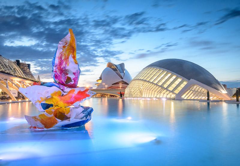 L'Hemisfèric und Palau de les Arts - Valencia Sehenswürdigkeiten