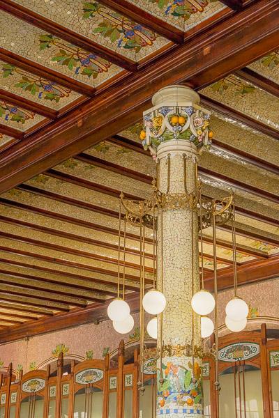 Leuchten Estacion del Norte Valencia Sehenswürdigkeiten