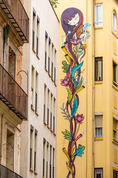 Streetart Julieta.XLF Valencia Sehenswürdigkeiten