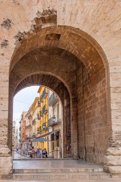 Stadttor Torres de Quart Valencia Sehenswürdigkeiten