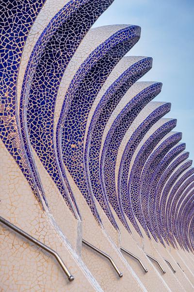 l'Umbracle Detail Valencia Sehenswürdigkeiten