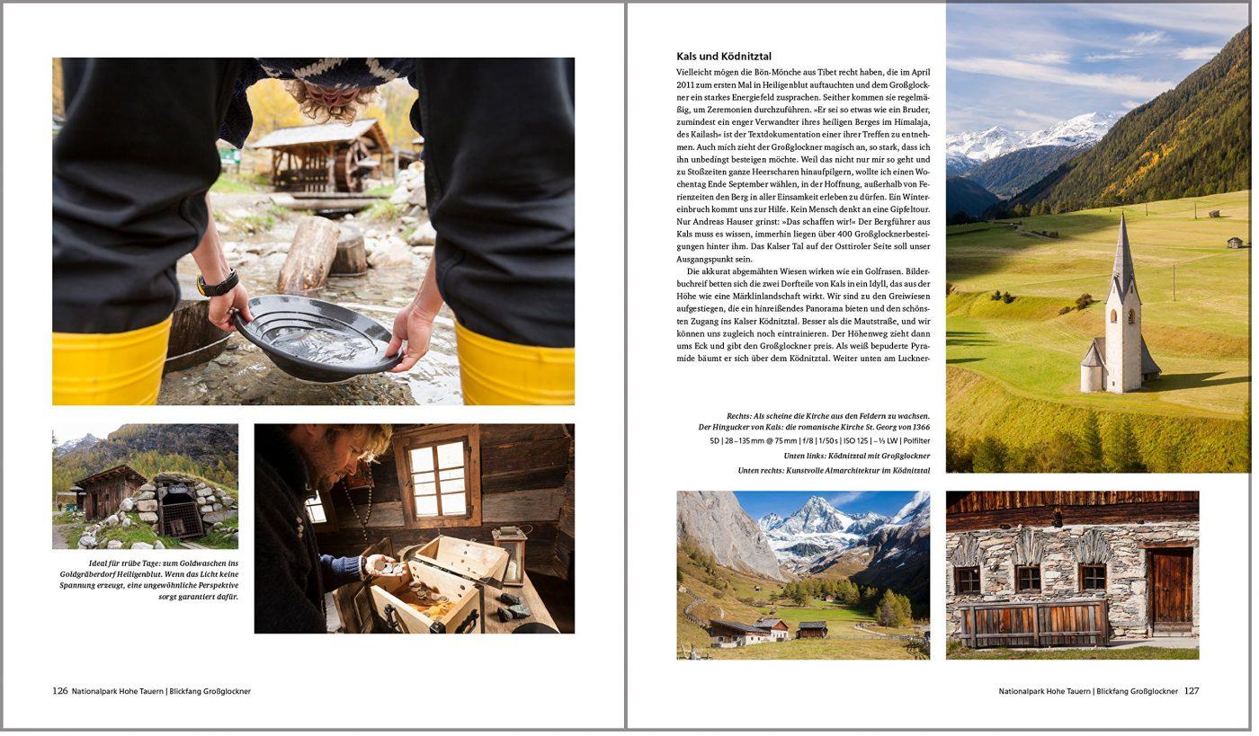 Fotografieren in den Alpen Großglockner