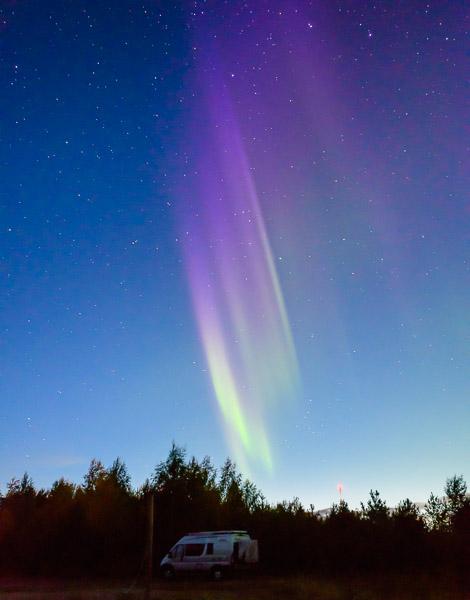 Nordlichter Finnisch Lappland