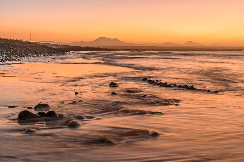 Strandbilder Fototipps - Steine im Wasser