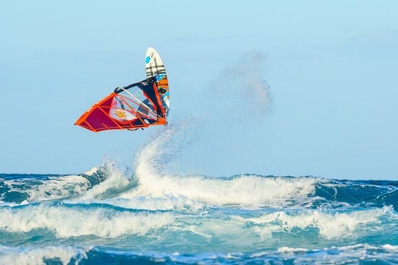 Strandbilder Fototipps - Serienbildaufnahme für Wassersportaufnahmen