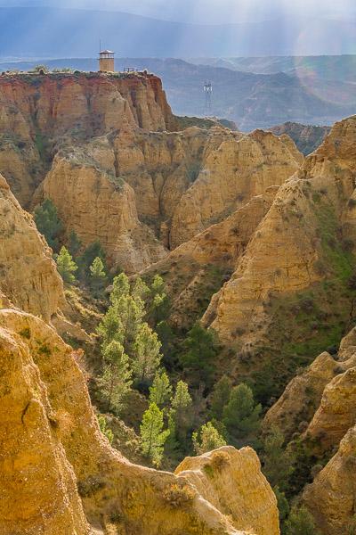 Badlands von Marchal, Andalusien