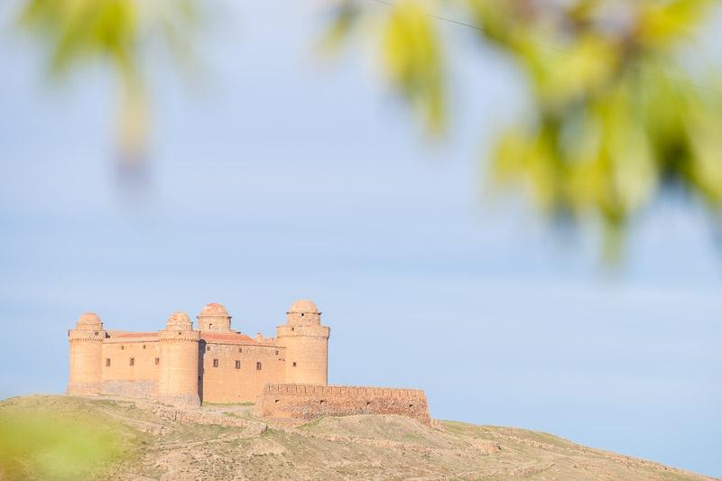 Castillo in La Calahorra Andalusien