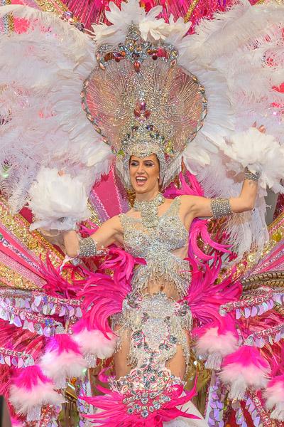 Wahl der Karnevalsqueen auf Teneriffa