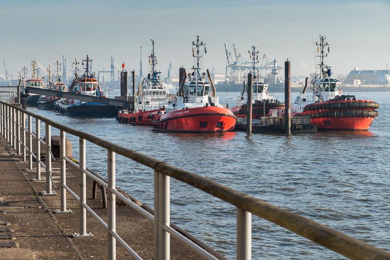 Schiffe in Hamburg