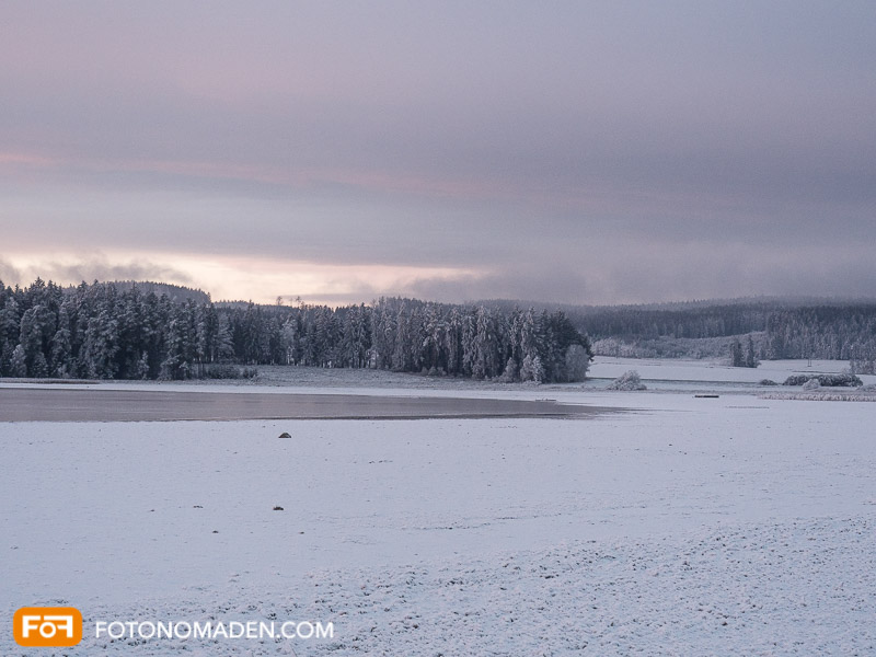 Sonnenaufgang, Winter, fad