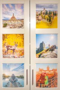 Fotoideen für Zuhause - Fotowand gestalten