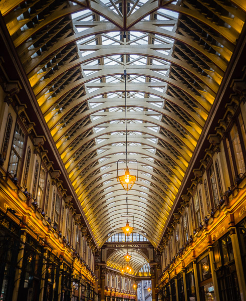 Leadenhall Market in London, neues Foto
