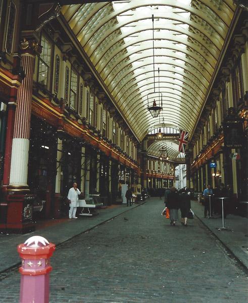 Leadenhall Market altes Foto