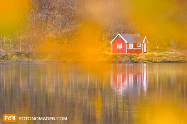 Fotografieren ist Kopfsache - Rotes Haus im Herbst