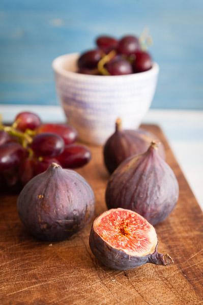 Fotoideen für Zuhause - Foodfotos Feigen