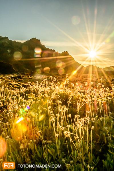 Bergfotografie - Blendenstern