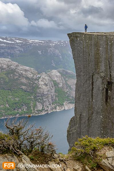 Bergfotografie - Preikestolen in Norwegen