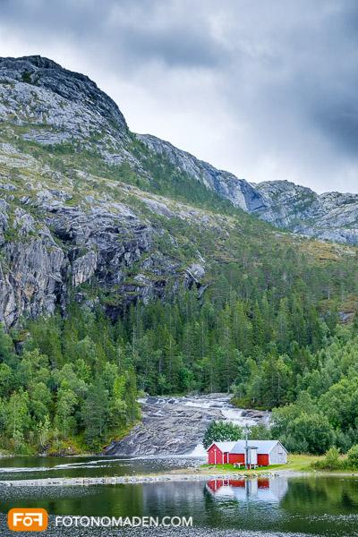 Bergfotografie Norwegen