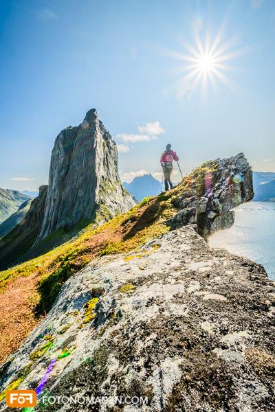 Bergfotografie mit Blendenstern