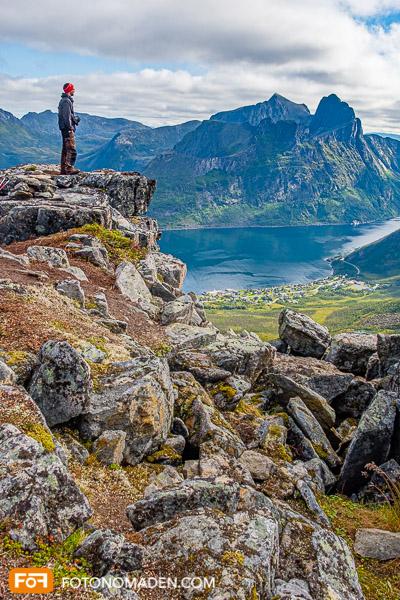 Bergfotografie - Bergwelt auf der norwegischen Insel Senja
