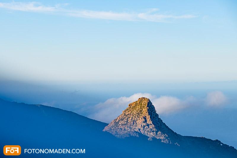 Bergfotografie auf Teneriffa