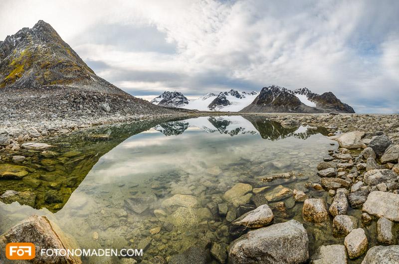 Bergfotografie Spitzbergen