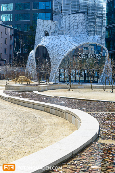 Städtefotografie Warschau Genesis Gebäude