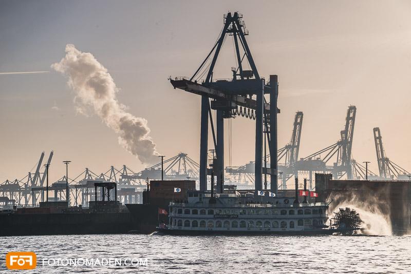 Städtefotografie Hamburg Industriehafen
