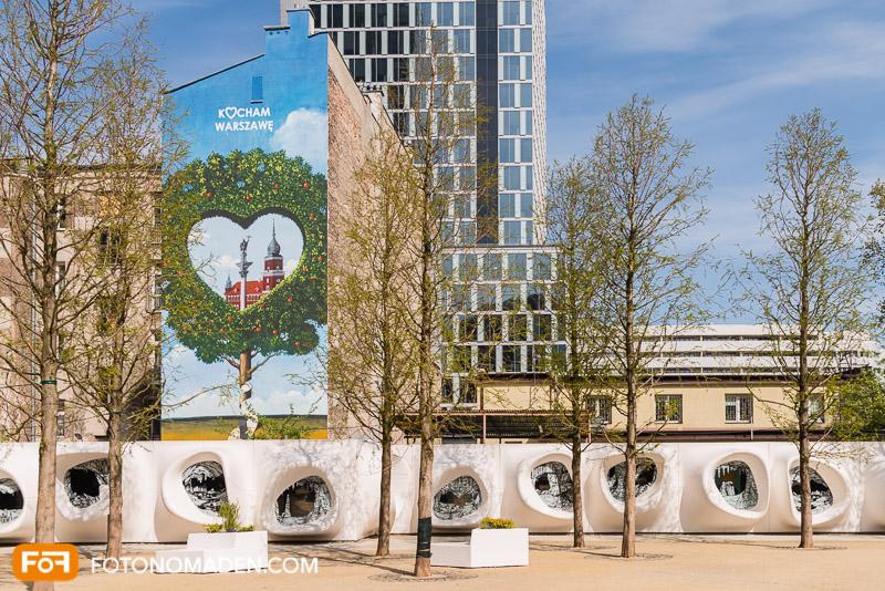 Städtefotografie Warschau moderne Architektur