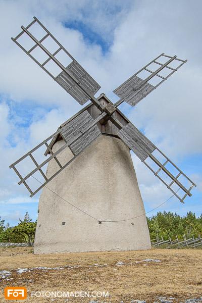 Windmühle nah und bildfüllend