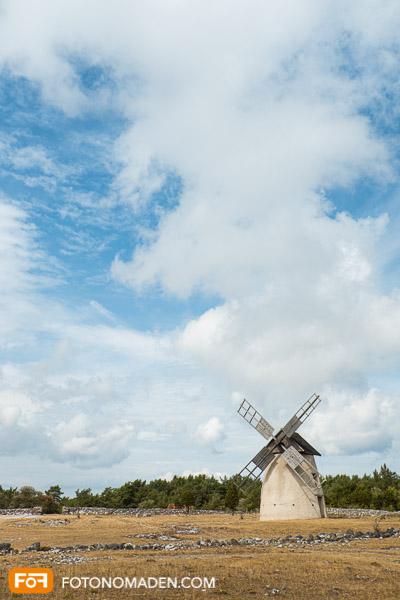 Windmühle - bewusste Bildkomposition