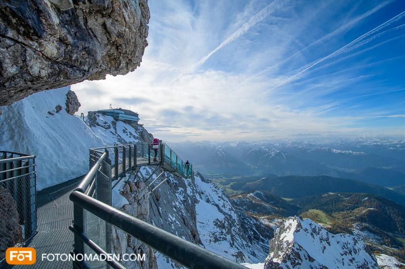 Dachstein Gletscher Treppe ins Nichts