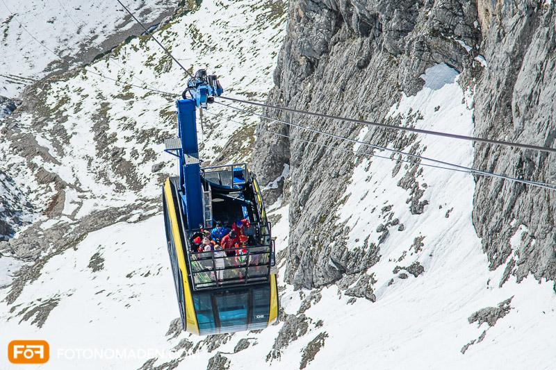 Dachstein Gletscher Gondel