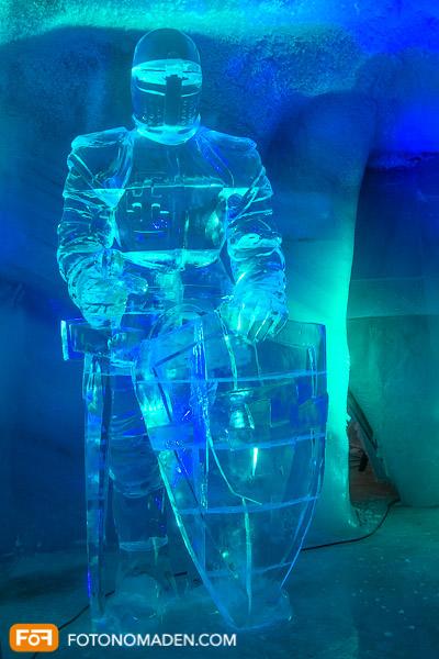 Dachstein Gletscher Eispalast Ritter