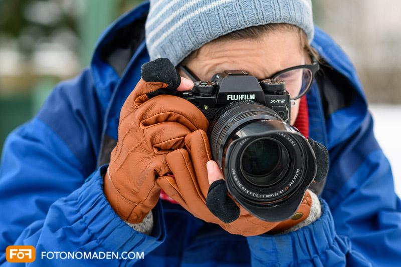 Vallerret Urbex Fotohandschuhe auch für Fotografinnen