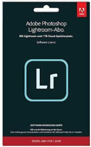 Adobe Lightroom CC& Photoshop CC