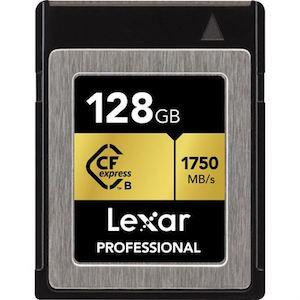 128 GB Lexar Professional XQD