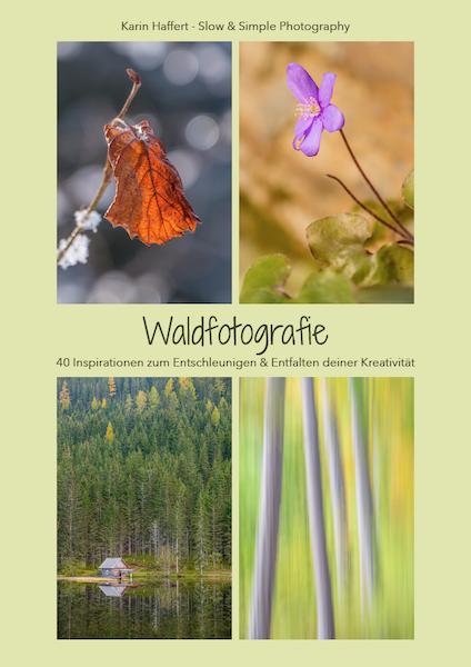 Waldfotografie - Blick ins Buch