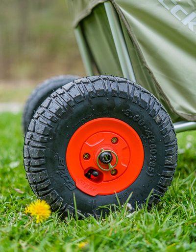 Eckla Beach-Rolly Reifen sind abnehmbar