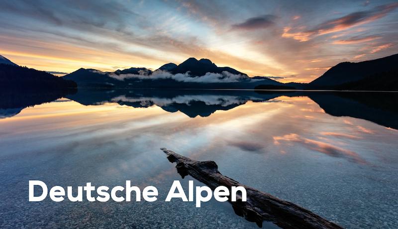Foto Reiseführer Deutsche Alpen