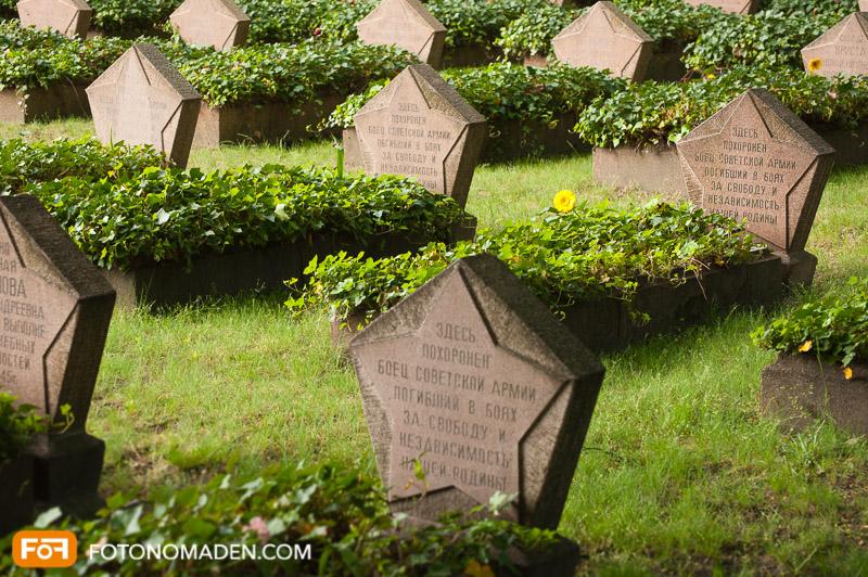 Foto Reiseführer Berlin - russischer Friedhof