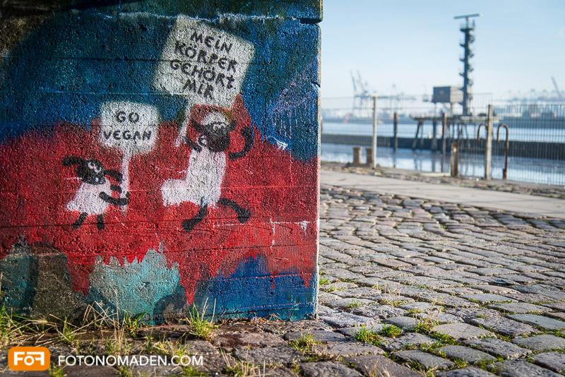 Foto Reiseführer Hamburg - Graffiti