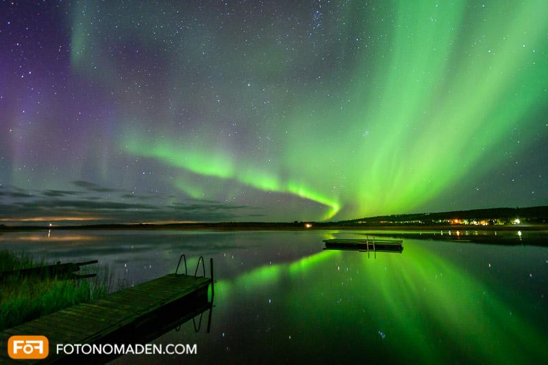 Nordlichter in Skandinavien